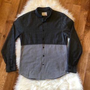 🖤Sovereign Code Men's Long Sleeve Button Up M